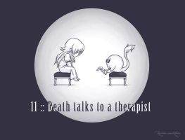 11 :: Death talks to a therapist by VoxGraphicaStudio
