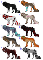 7-10 Point Wolf Adopts CLOSED by Pineaapple