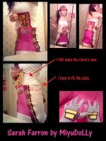 Serah Farron cosplay preview 3DS pics by MiyuDoLLy