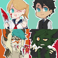 weeaboo icons by Rigor-mortys