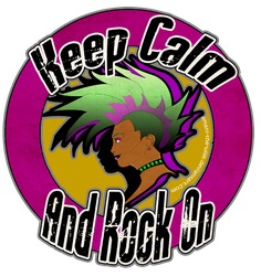 Keep Calm and Rock On by Amani-the-Wise