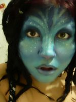 Avatar inspired Makeup by MalevolentJester