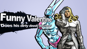 Funny Valentine as a Super Smash Bros. Newcomer! by SuperpanArts