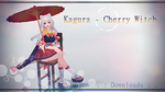 MMD Kagura - Cherry Witch .:No Download Anymore:. by AceYoen