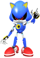 Metal Sonic by JaysonJeanChannel