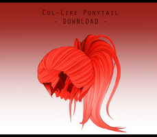 Cul-Like Ponytail [ DOWNLOAD ] by PeachMilk3D