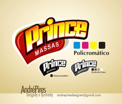 Logo Prince by andrepiresdesign
