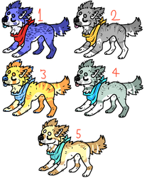 Dog Adopts [ CLOSED ] by TangerineAdopts
