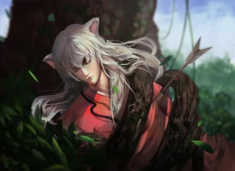 Inuyasha by Linfter