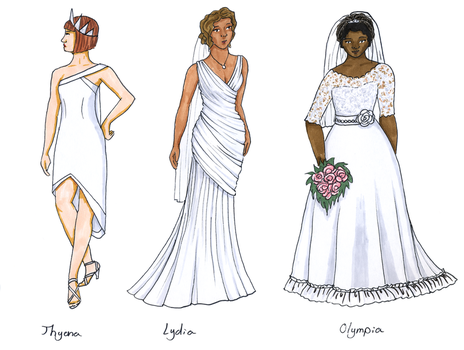 Big Love Wedding Dresses by taylor-of-the-phunk