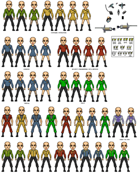 Star Trek TOS Uniforms by Windwalker44