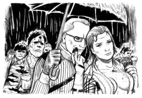 MGS3: March of the Dead by cluedog