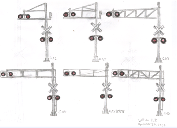 My Favorite Cantilever Signals by WillM3luvTrains