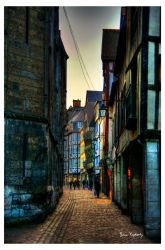 Rue Saint Romain by deylac