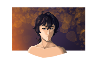 Keith in a Ponytail by chronojessicapple