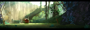 bg wakfu by cyrilcorallo