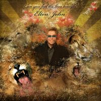 Elton John 'The Lion King' by AngelicBond