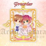 CCS Gold foil charm by arisa-chibara