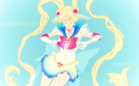 Sailor Super LUCKY MOON by pt0317