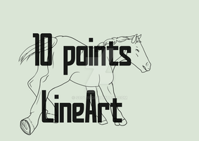 Horse line 4 by Scotis