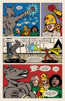 Lady Spectra and Sparky: Star Tomb pg.10 by JKCarrier