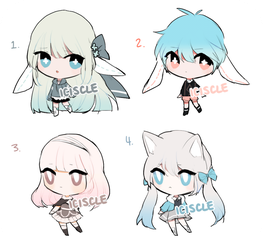 [CLOSED] Smal adoptable batch by Iciscle