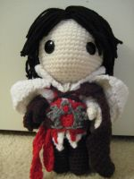 Ezio Sackboy by Goldenjellybean