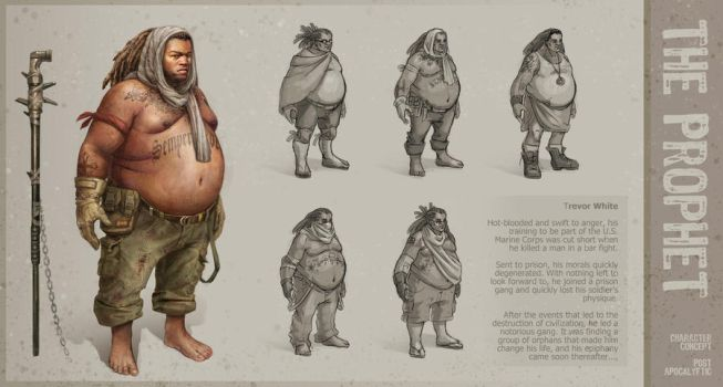 The Prophet - Character Sheet by SnakeToast