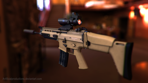 Scar-L ACOG by Artificialproduction