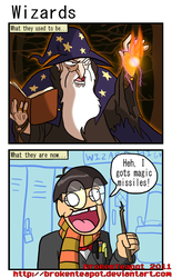 Wizards by BrokenTeapot