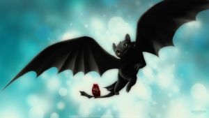 Night Fury | Toothless by IgorPosternak