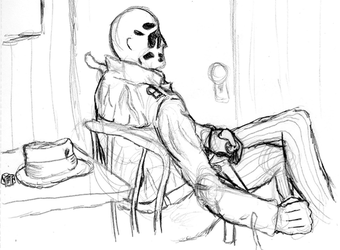 A Comedian Died Tonight-- WIP by dpak