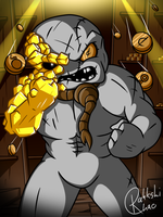 Ultra Greed: Money equals Power by RahkshiChao
