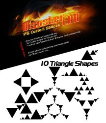 10 Triangle Shapes by DisasterLab
