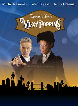 Missy Poppins poster by Esbeherel