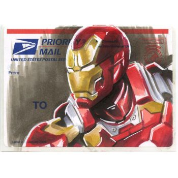 Copic Iron Man on a 228 by danomano65