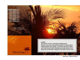 tahiti tan -splash page by cgeorge