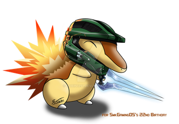 SmkGaming05 - Shiny HaloQuil by robin1291