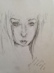 Sketch: Drawing From a Picture by 52HertzWhale