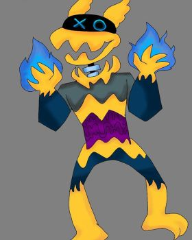 Unnamed Fella by SolangeGag