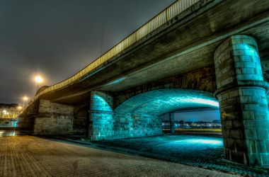 Bruecke in Minden II by wolfgangbuhr