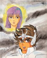 Saint Seiya by Bufoland
