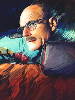 Breaking Bad - Heisenberg smudge TAG by FafadoToddynho