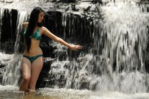 Rosie - waterfall touch 1 by wildplaces