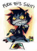 FUCK THIS SHIT by Karkat-Vantas