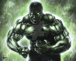 The Incredible Hulk by JPKegle