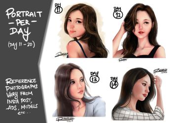 Working on Portraits 2 by Ultragriffy
