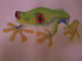 a small small frogie by tQahslimpeople