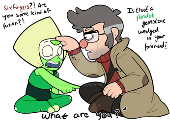 Peridot Meets Ford by itsaaudraw