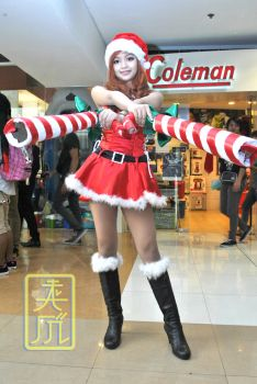 Miss Fortune Candy Cane Skin 01 by ayamizumi